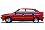 Felgi do Alfa Romeo 33 Hatchback I