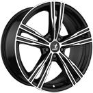 Felga itWHEELS Amos Black Polished