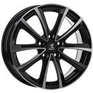 Felga itWHEELS Elena Black Polished