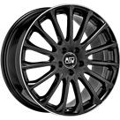 Felga MSW 30 Gloss Black Diamond Lip