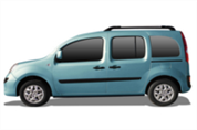 Felgi do Renault Kangoo Rapid II FL