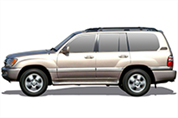 Felgi do Toyota Land Cruiser SUV J10