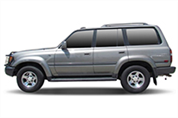 Felgi do Toyota Land Cruiser SUV J8