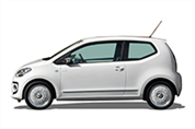 Felgi do VW e-up! Hatchback I